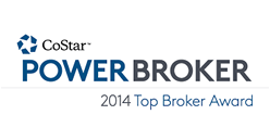 CoStar Power Broker / 2014 Top Broker Award